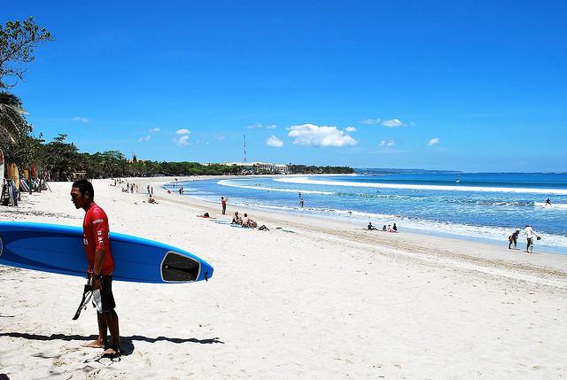 wyspa surferów - Bali