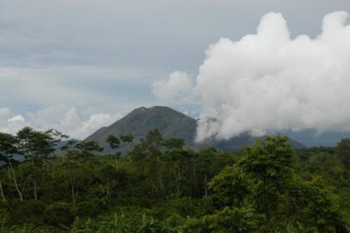 wulkany na Bali