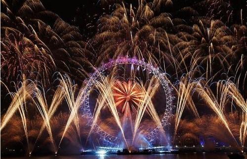 Londyn sylwester 2011
