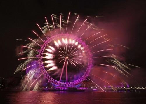 Londyn 2011 Sylwester