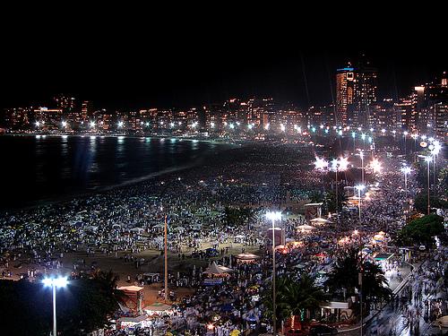 Rio de Janeiro sylwester 2011