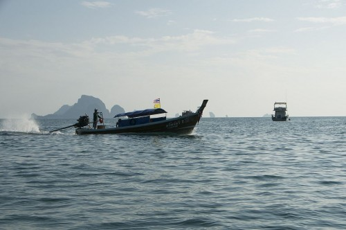 łódka w Tajlandii