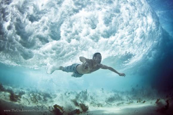 Podwodne zdjęcia - autor Mark Tipple