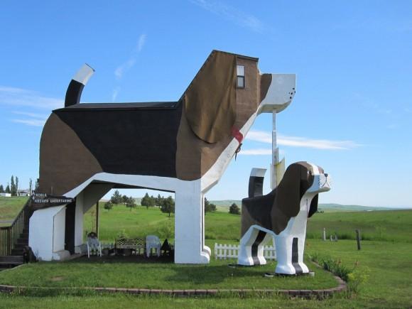 Dog Bark Park Inn Hotel