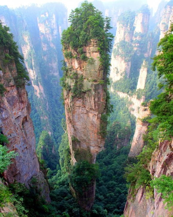Góry Tianzi - Chiny