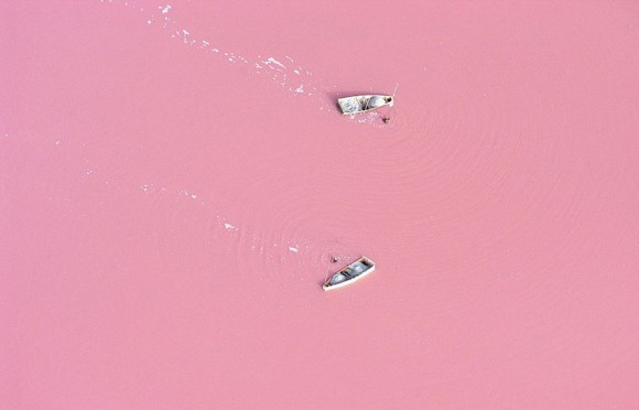 Jezioro Retba - Senegal