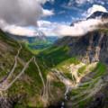 Trollstigen – górska serpentyna w Norwegii