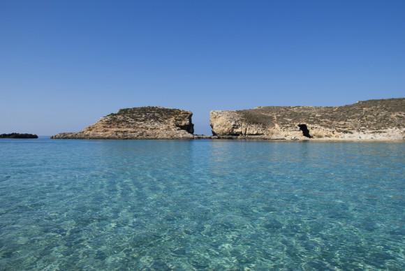 Lazurowa woda na Malcie